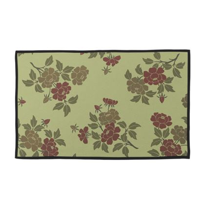 Towel Set - Japanese flowers and leaves pattern Remaster