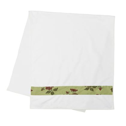 Strip Towels - Japanese flowers and leaves pattern Remaster