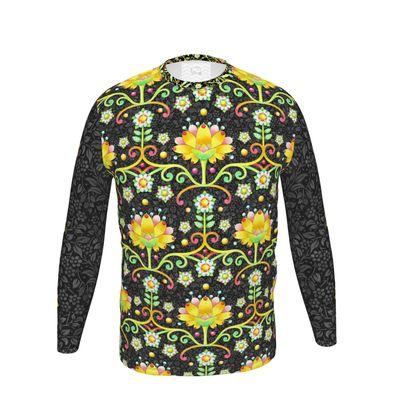 Patricia Shea Designs Damask Long Sleeve T