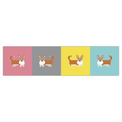 Cardigan Corgi Pattern Dog Lead
