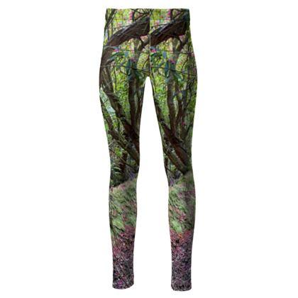 Meudon woodland High Waisted leggings