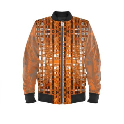 Men's Bomber jacket orange Topaz range