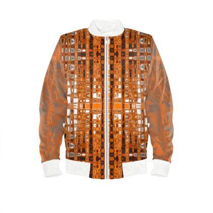 Men's bomber jacket Abstract topaz range