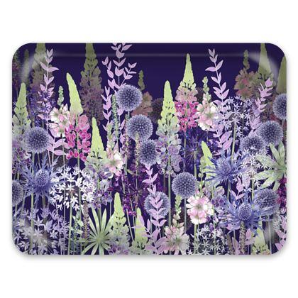Tray - Midnight Flower Dance