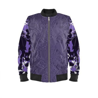 Men's bomber jacket i love music range