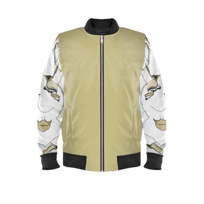Men's bomber jacket It's all good