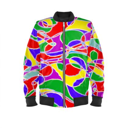 Men's Bomber Jacket - Stand Out From The Crowd