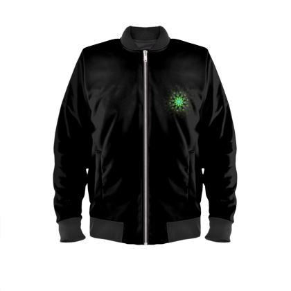 Men's bomber jacket abstract envy range