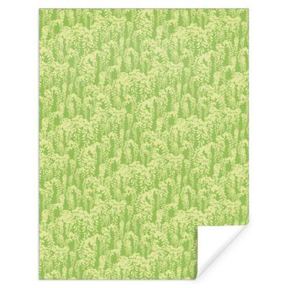 "Gift wrap in ""Green Laburnum"""