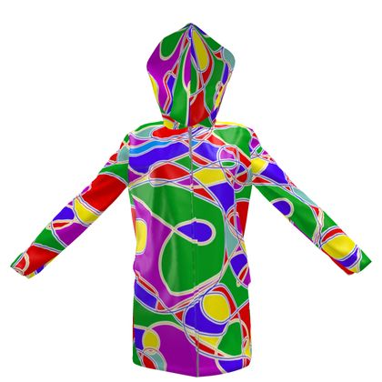 Women's Hooded Rain Mac for Ladies