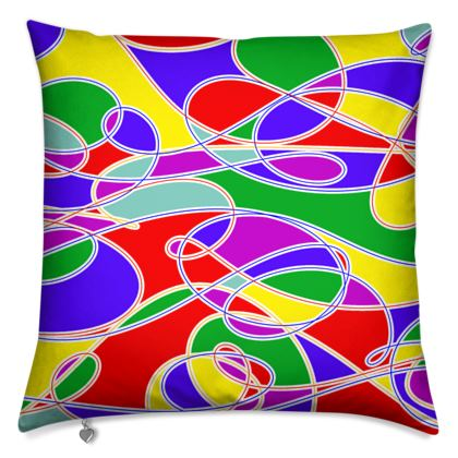 Cushions - With Bright Summer Colours That You can Use Anywhere