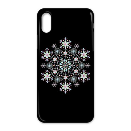 Prismatic Snowflake iPhone X Case