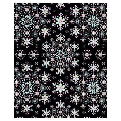 Snowflake Floral Hoodie