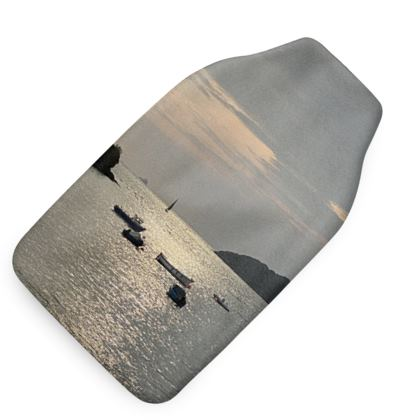 Hot water bottle - morning views from helford passage