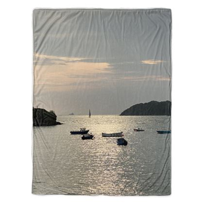 Sherpa Throw - Morning view from Helford Passage