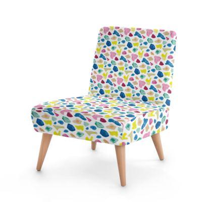 Occasional Chair, Beach Glass