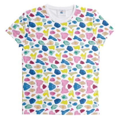 All over print T-shirt, Beach Glass