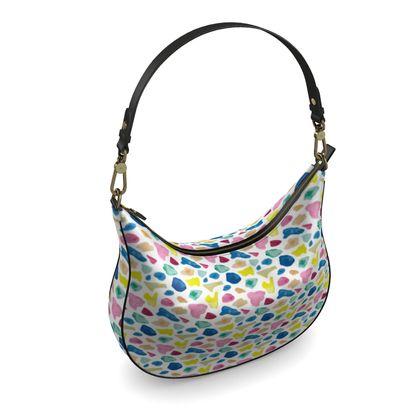 Curve Hobo Bag, Beach Glass