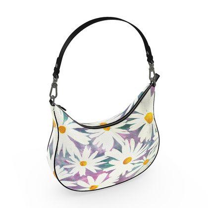 Daisies Curve Hobo Bag