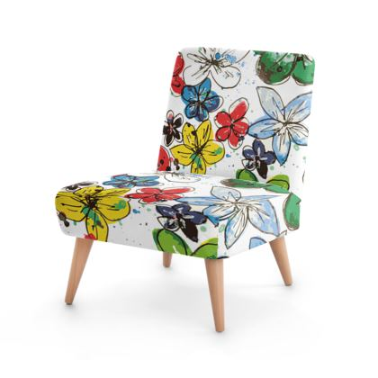 Chair, Flowers and Confetti