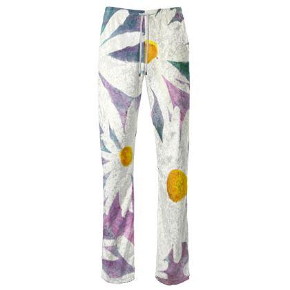 Daisies Velvet Trousers