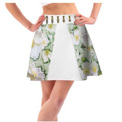 Flared skirt sweet pea