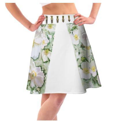 Flared skirt pretty pea