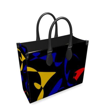 Leder-Shoppingtasche