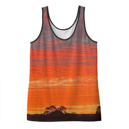 Mawnan Sunrise Vest top