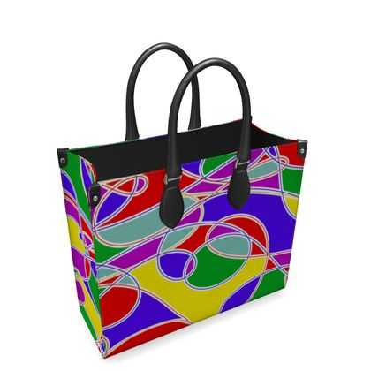 Leather Shopper Bag - Superb Quality With 100% Real Napa Leather