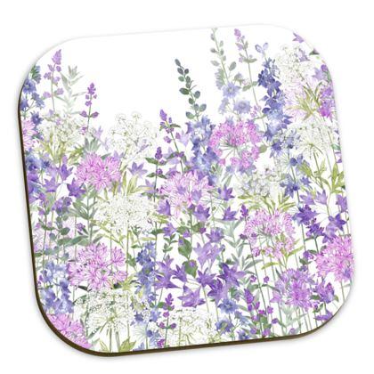 Floral Symphony Coasters