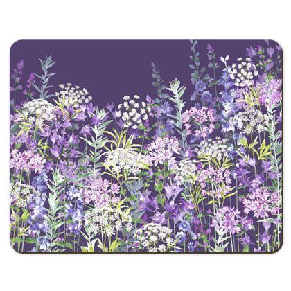 Placemats - Dusky Floral Symphony