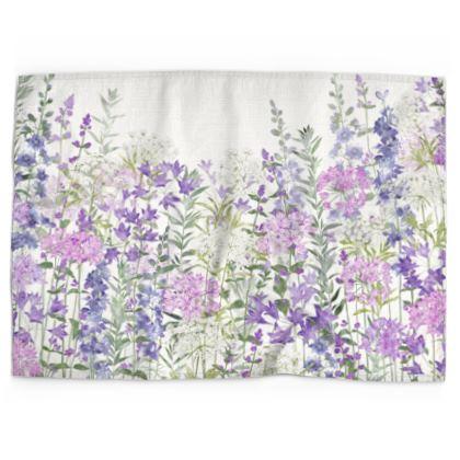 Floral Symphony Tea Towel