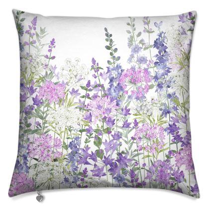 Floral Symphony Cushion