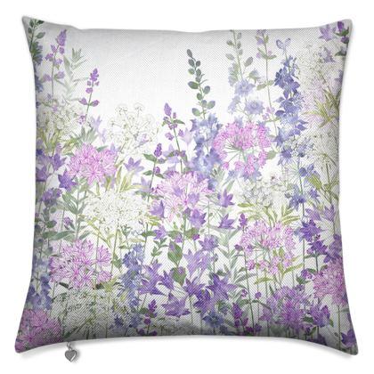 Floral Symphony Luxury Cushion