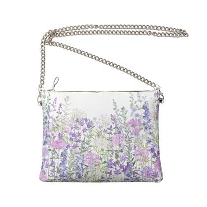 Floral Symphony Crossbody Bag