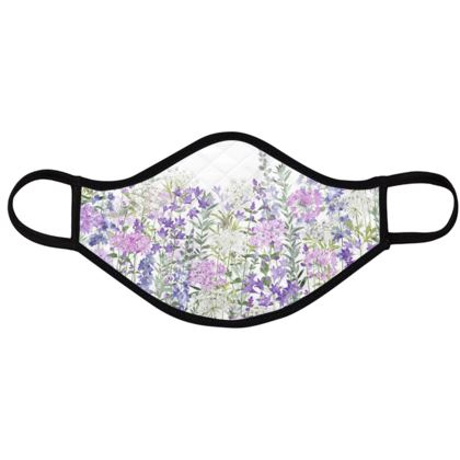 Floral Symphony Face Masks