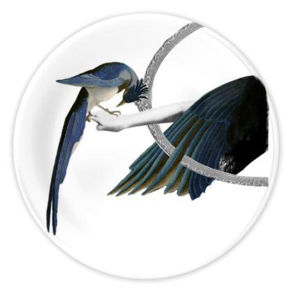 Lady Bird China Plate