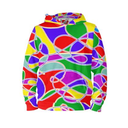Hoodie - With Super Sunny Stand Out Colours