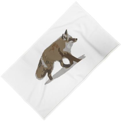 Towels - Lonely Fox In The Snow