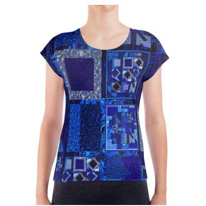 Maglietta elegante linea Ricami