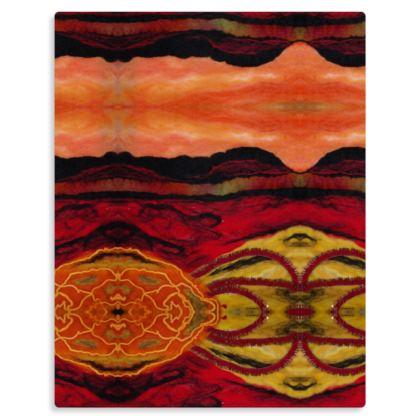 Desert Rapture Premium Art Print on Metal Panel
