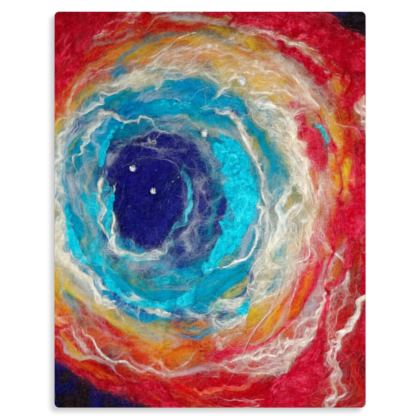 The Fabric of Space and Time Premium Metal Panel Art Print