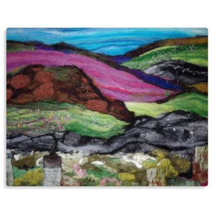 Colours of Dartmoor Premium Metal Art Panel