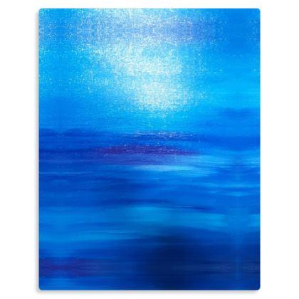 Call of the Ocean Premium Art Print on Metal Panel