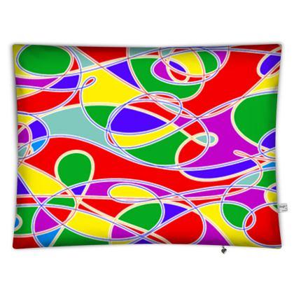 Floor Cushions - Multi-Colour Casual For Use Anywhere
