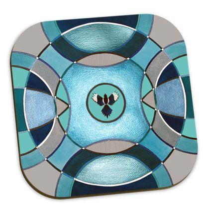 Symmaria Magpie Coasters