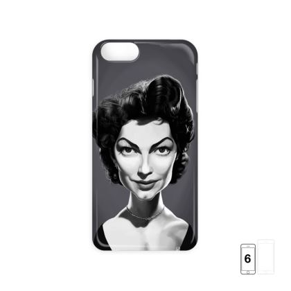 Ava Gardner Celebrity Caricature iPhone 6 Case