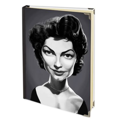 Ava Gardner Celebrity Caricature Journals