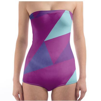 TOKYO Swimsuit / Body (Purple)